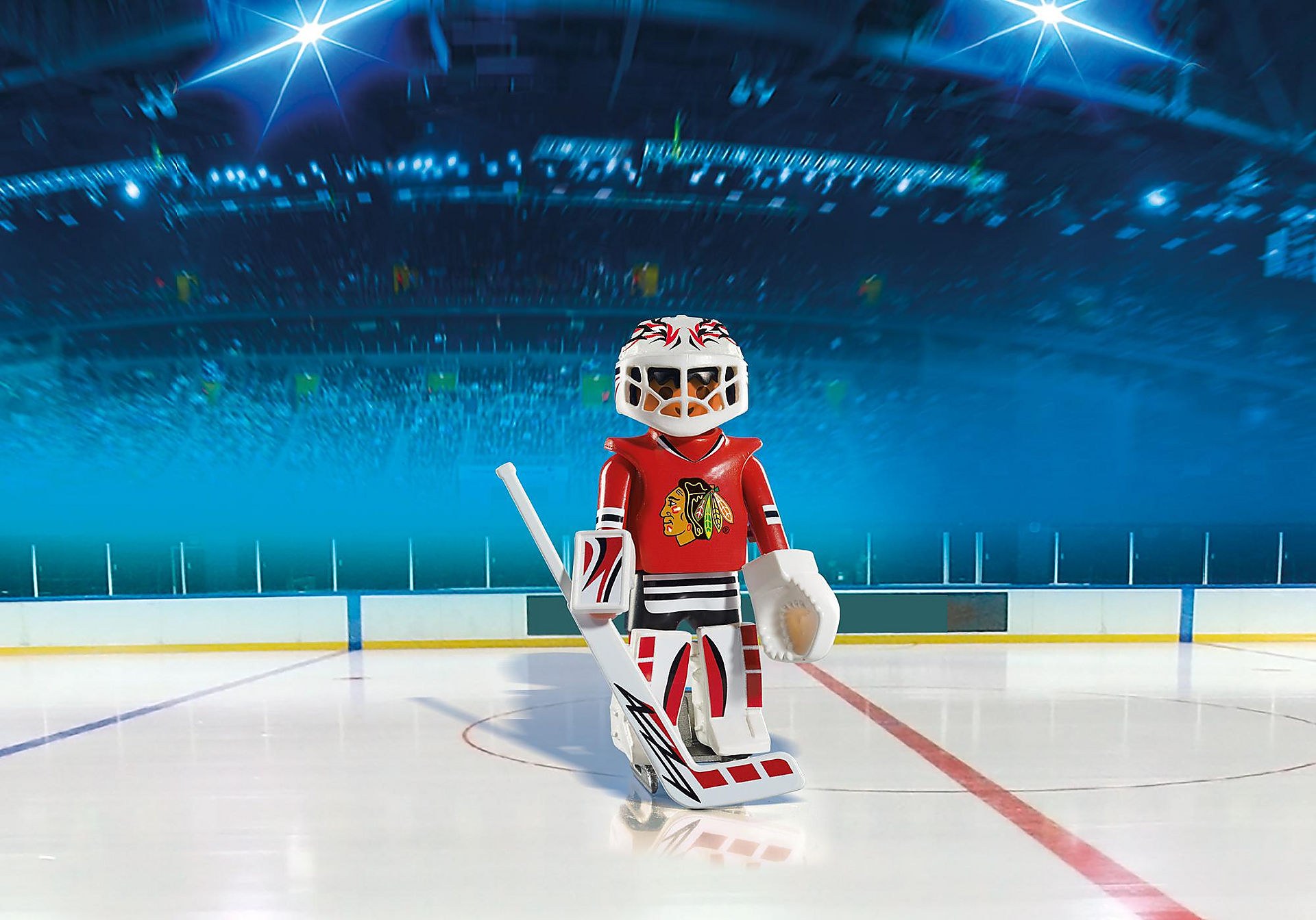 5074 NHL™ Chicago Blackhawks™ Goalie zoom image1