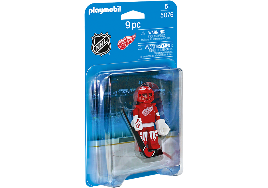 5076 NHL® Detroit Red Wings® Goalie detail image 2