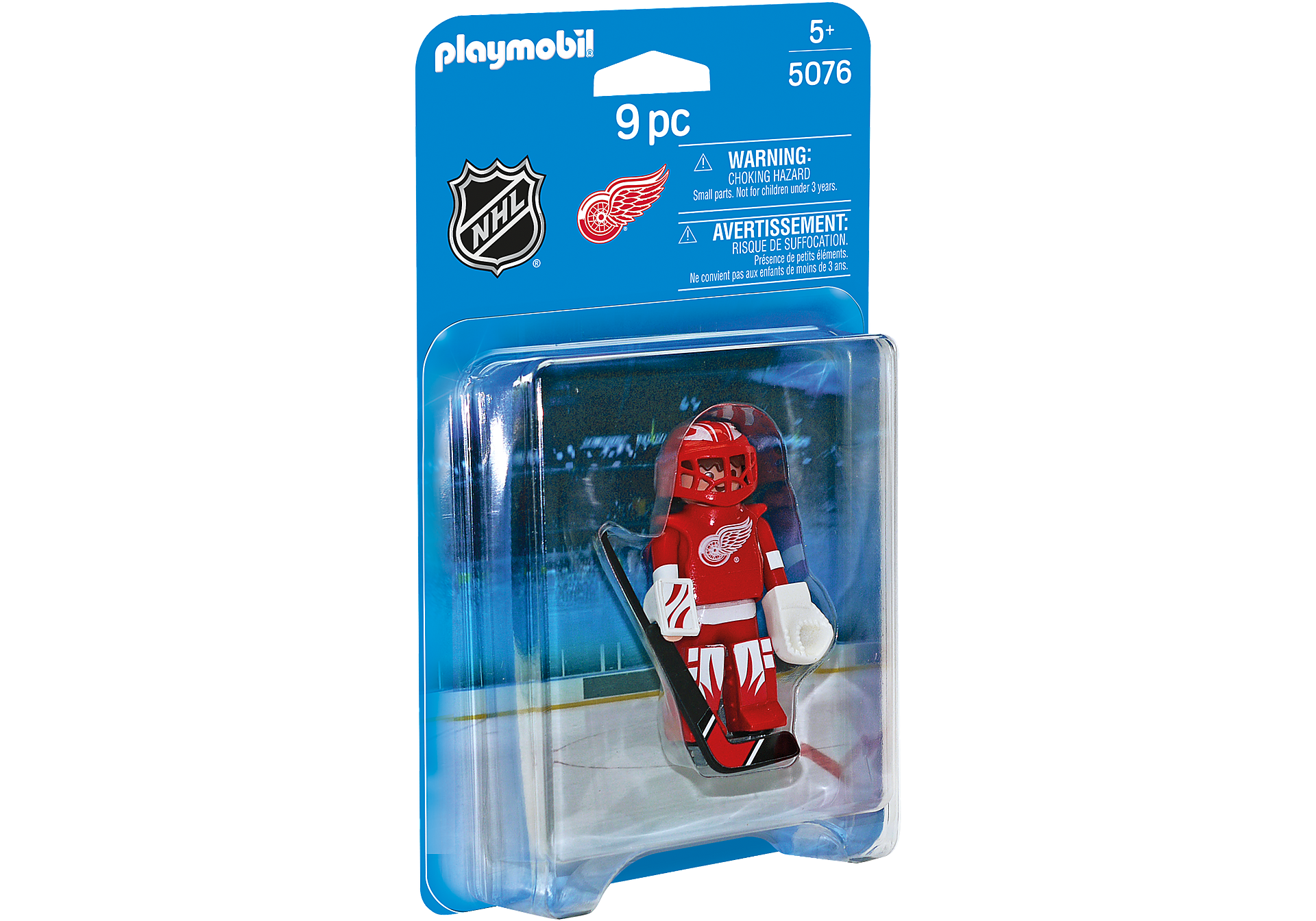 5076 NHL™ Detroit Red Wings™ Goalie zoom image2