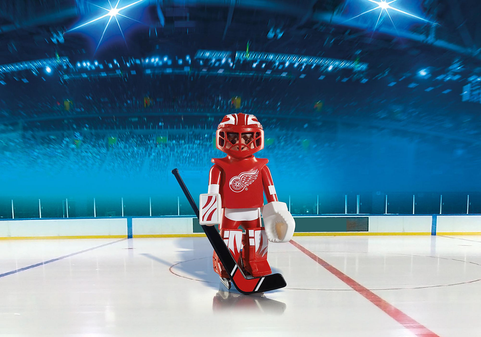 5076 NHL® Detroit Red Wings® Goalie zoom image1