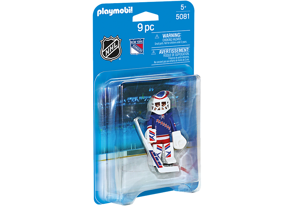 5081 NHL® New York Rangers® Goalie detail image 2