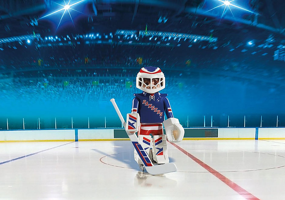 5081 NHL® New York Rangers® Goalie detail image 1