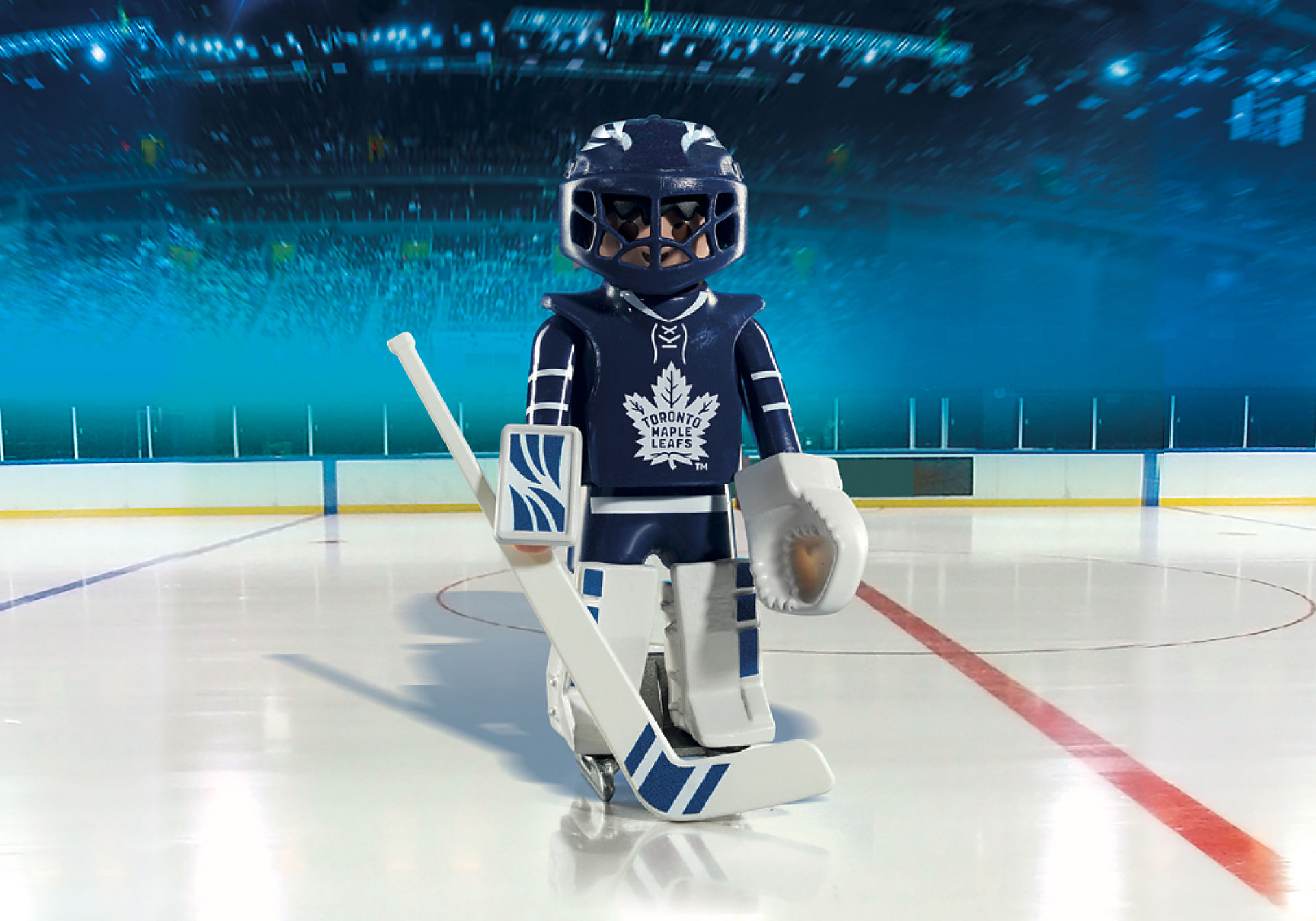 5083 NHL™ Toronto Maple Leafs™ Goalie zoom image1