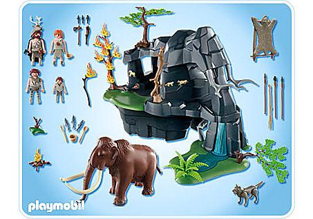 5100-A Große Steinzeithöhle mit Mammut detail image 2