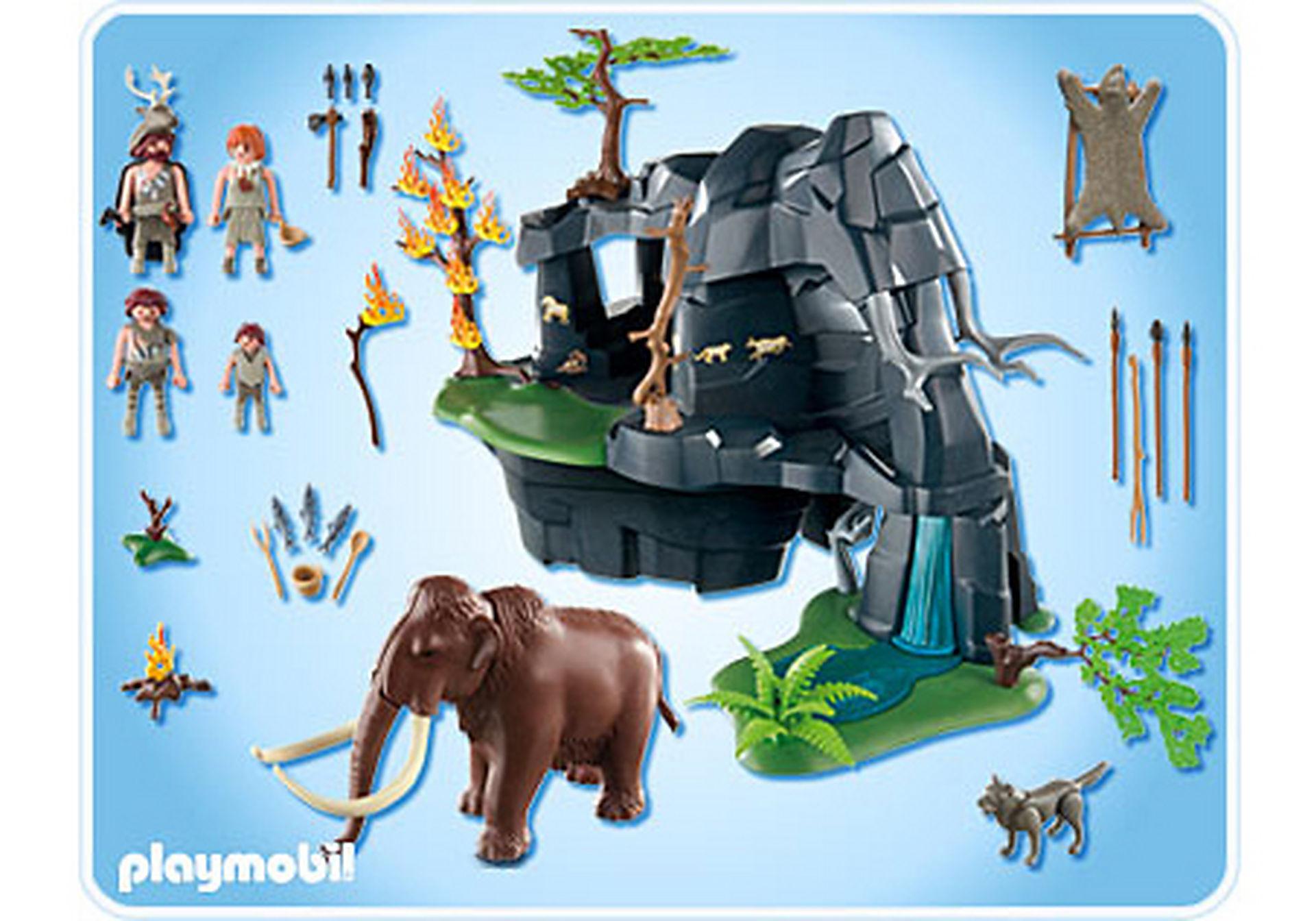 http://media.playmobil.com/i/playmobil/5100-A_product_box_back/Große Steinzeithöhle mit Mammut