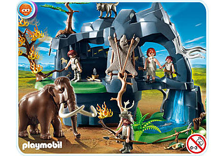 http://media.playmobil.com/i/playmobil/5100-A_product_detail/Große Steinzeithöhle mit Mammut