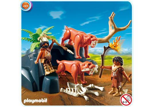 http://media.playmobil.com/i/playmobil/5102-A_product_detail/Säbelzahntiger mit Knochenjägern