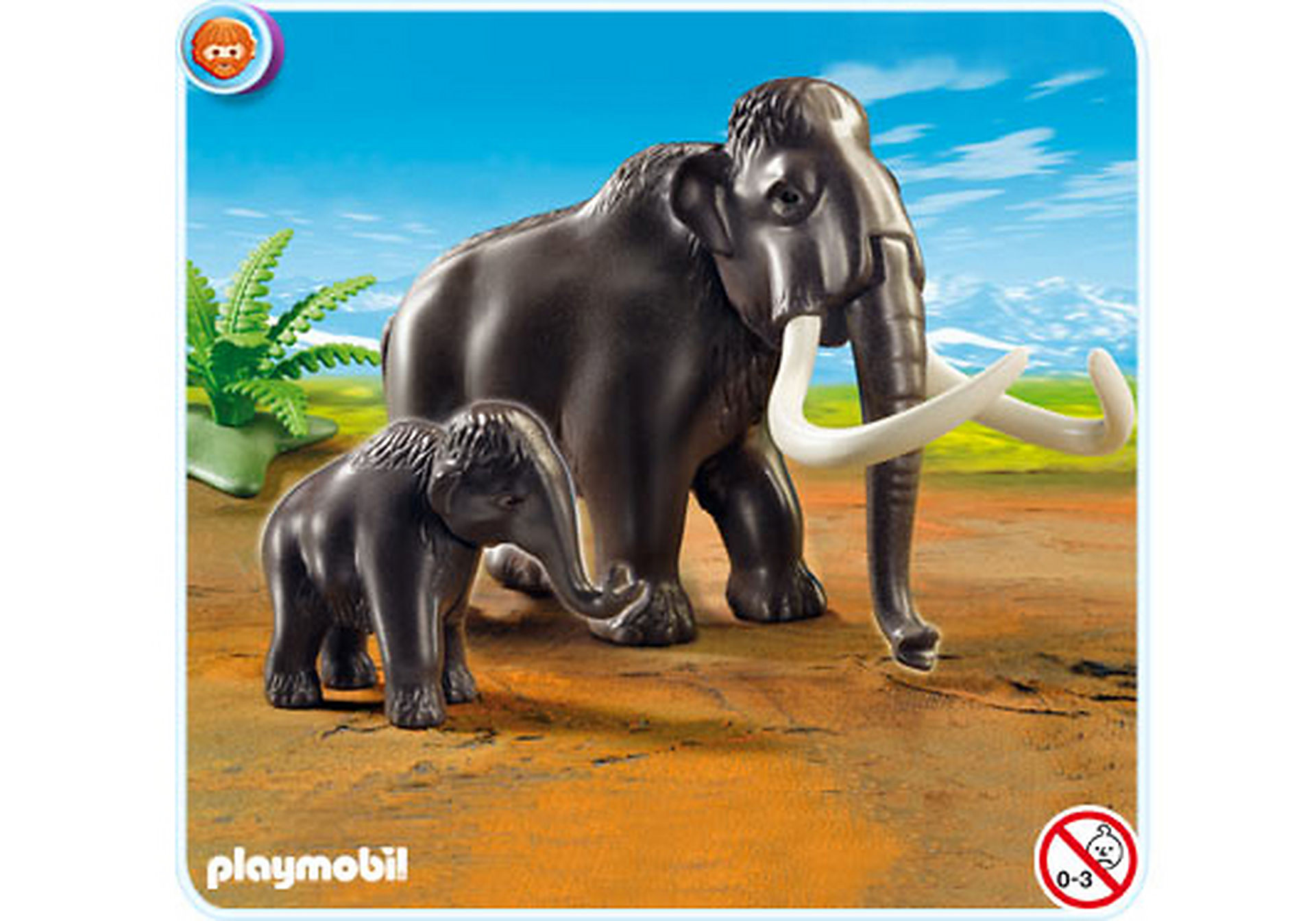 5105-A Mammut mit Baby zoom image1