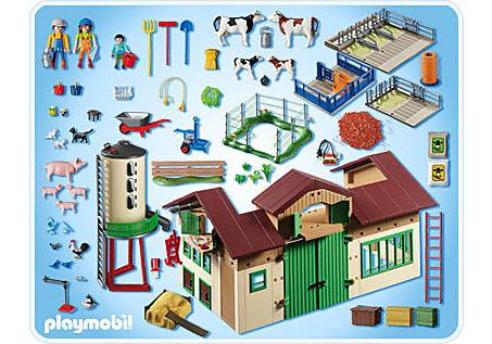 5119-A Neuer Bauernhof mit Silo detail image 2