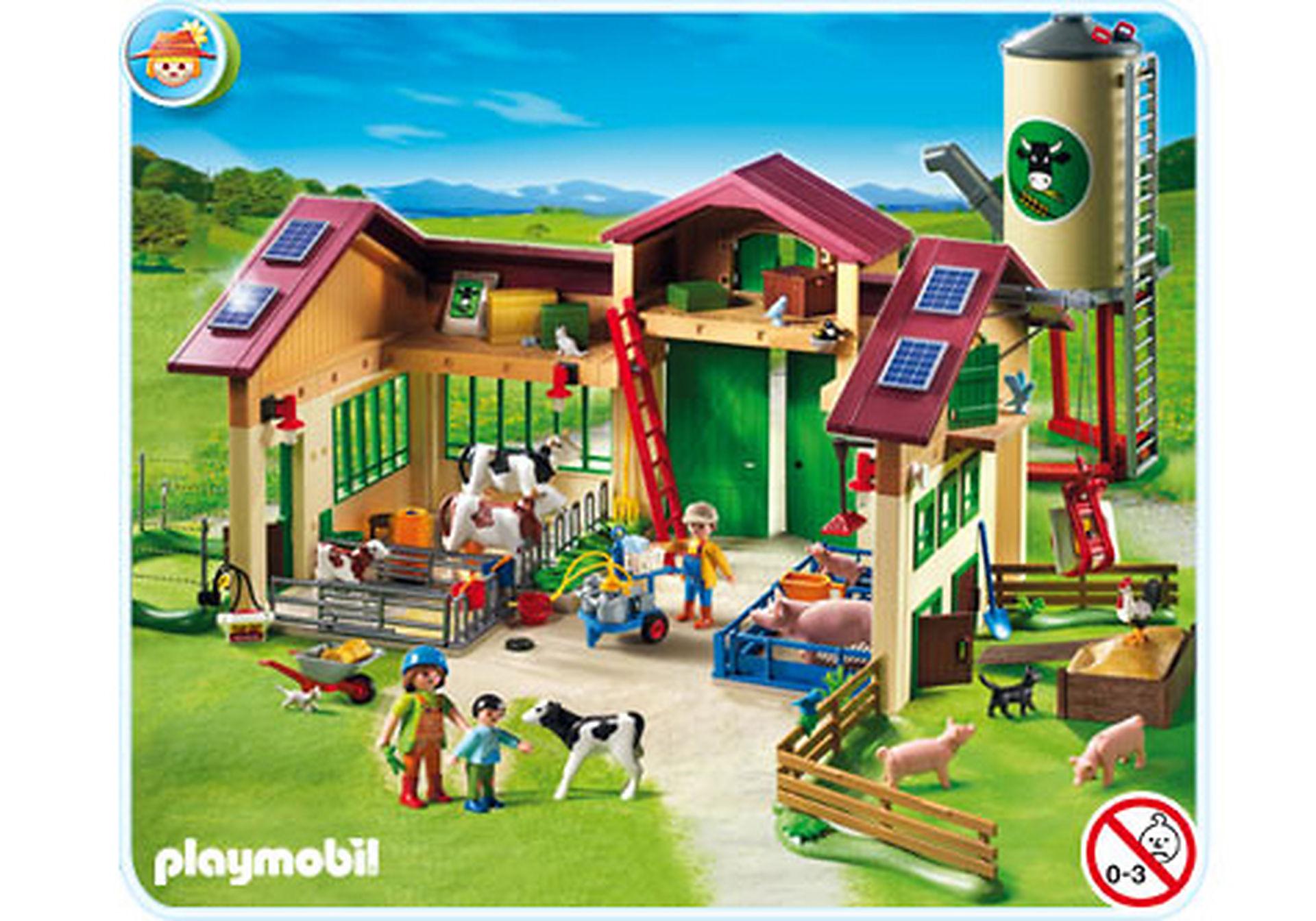 5119-A Neuer Bauernhof mit Silo zoom image1