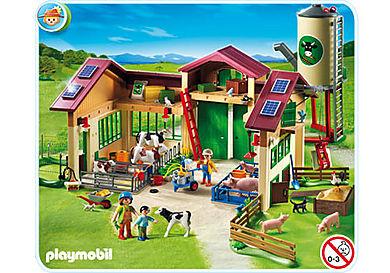 5119-A Neuer Bauernhof mit Silo
