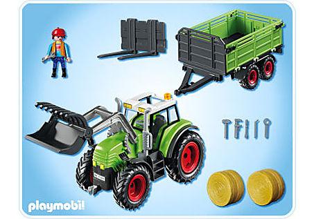 5121-A Riesen-Traktor mit Anhänger detail image 2