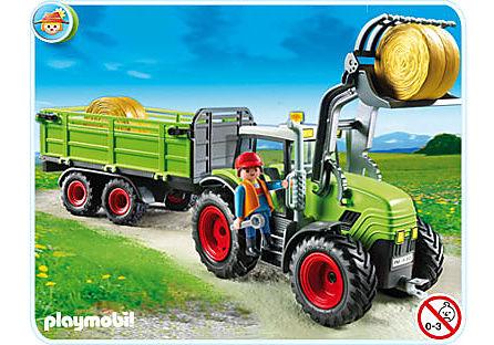 5121-A Riesen-Traktor mit Anhänger detail image 1