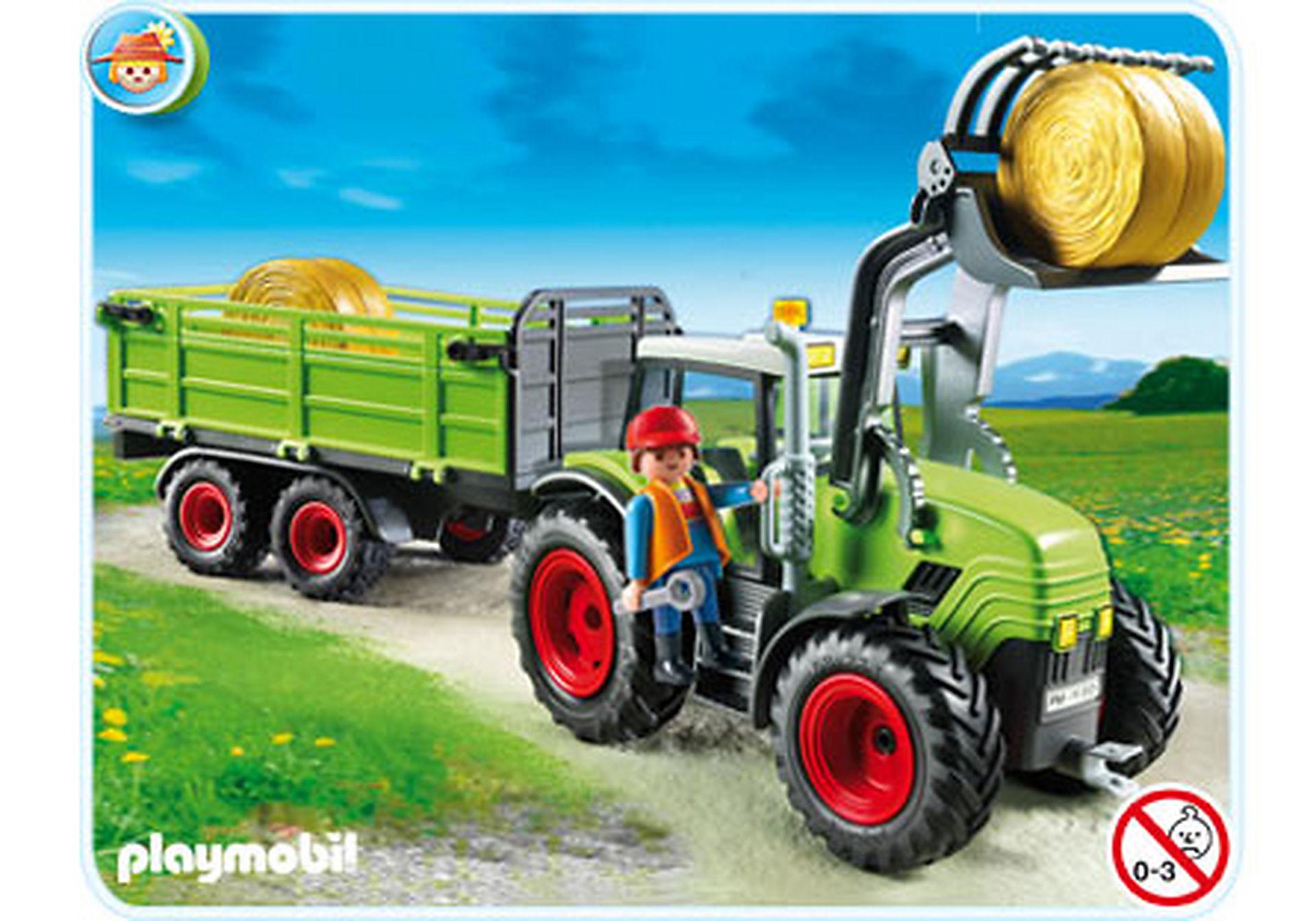 5121-A Riesen-Traktor mit Anhänger zoom image1