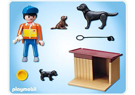 5125-A Hofhund mit Welpen detail image 2