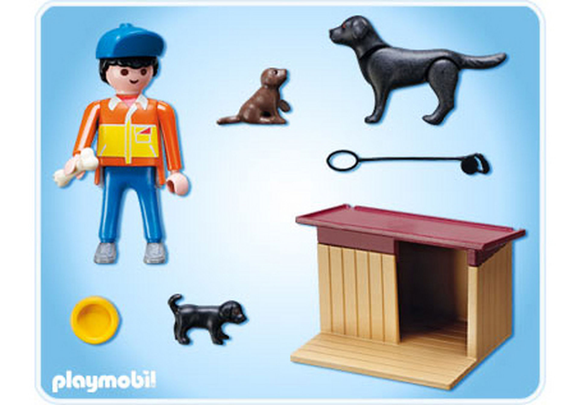 5125-A Hofhund mit Welpen zoom image2
