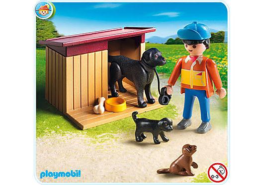 5125-A Hofhund mit Welpen detail image 1
