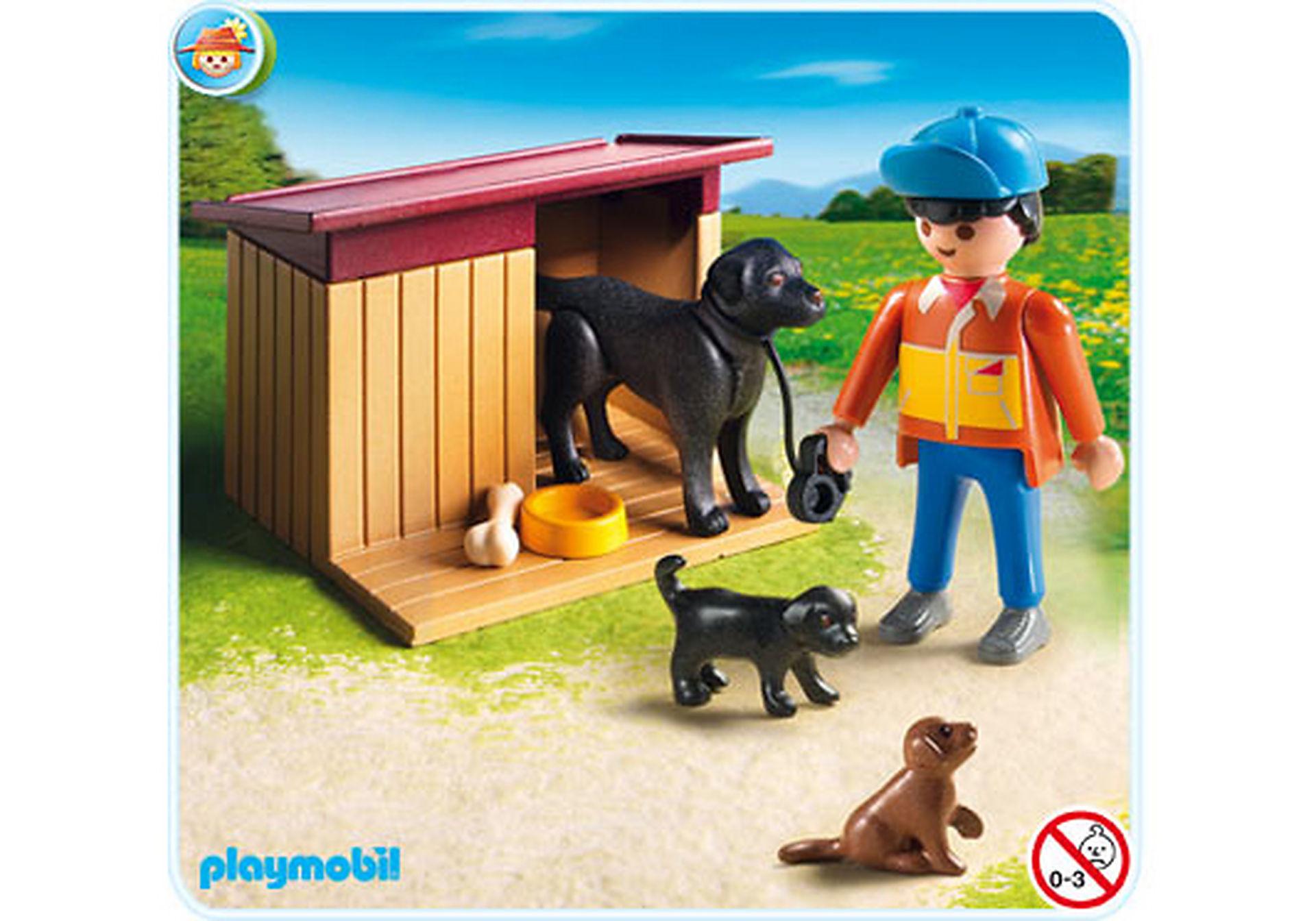 5125-A Hofhund mit Welpen zoom image1
