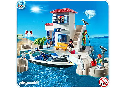 5128-A Hafenpolizei mit Schnellboot detail image 1