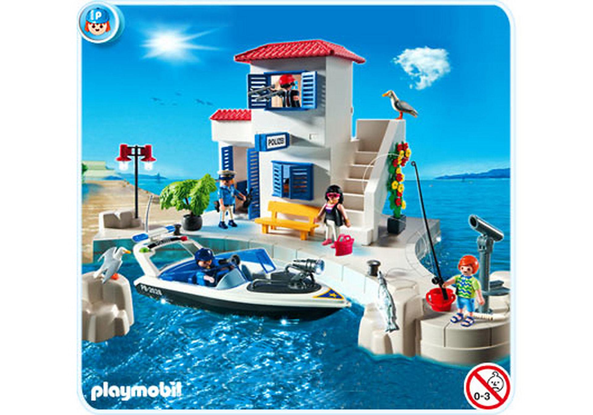 5128-A Hafenpolizei mit Schnellboot zoom image1