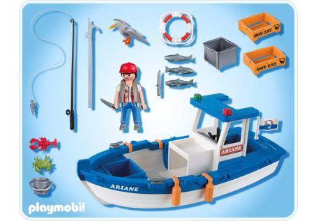 bateau de peche playmobil 5131