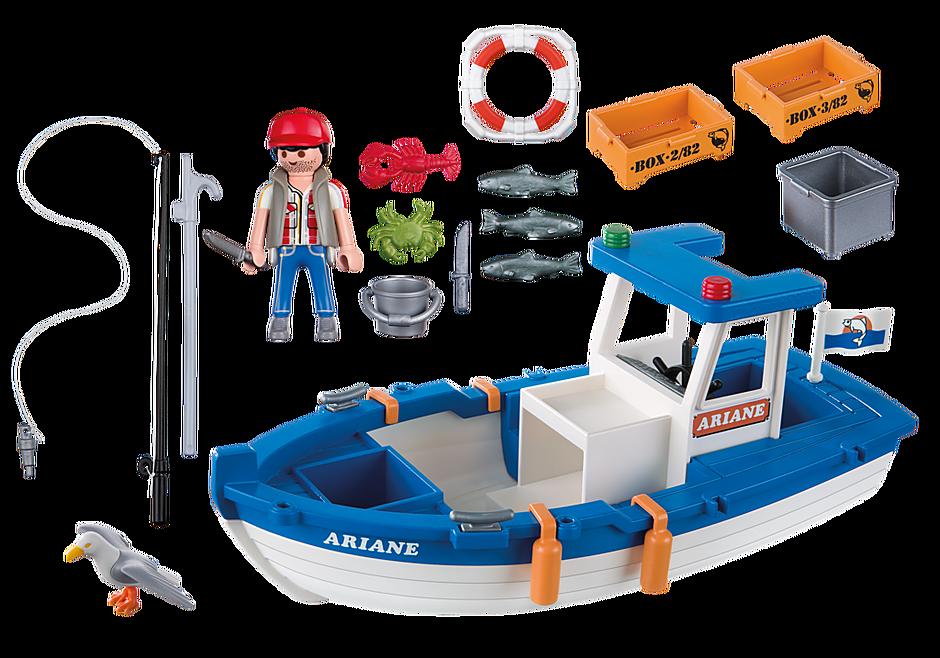 5131 Bateau de pêche detail image 3