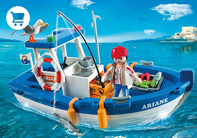 5131_product_detail/Fisherman with Boat