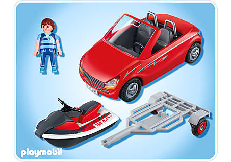 5133-A Roadster mit Jetski detail image 2
