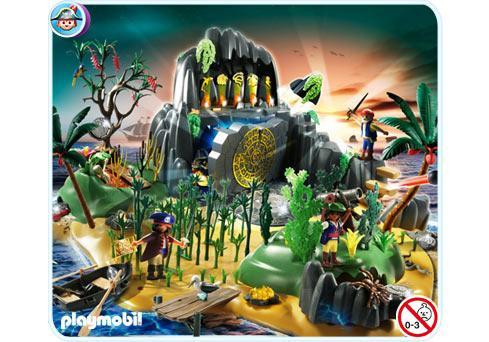 Abenteuerschatzinsel 5134 A Playmobil Deutschland