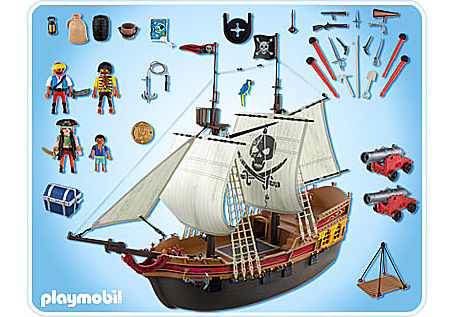 5135-A Piraten-Beuteschiff detail image 2