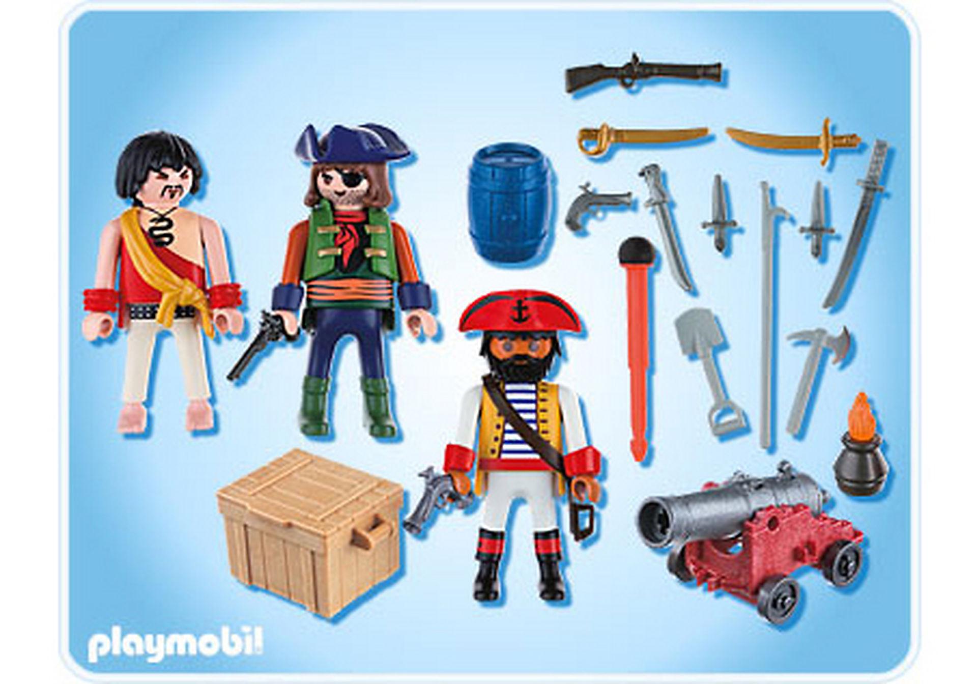 5136-A Piratenkommando mit Waffenarsenal zoom image2