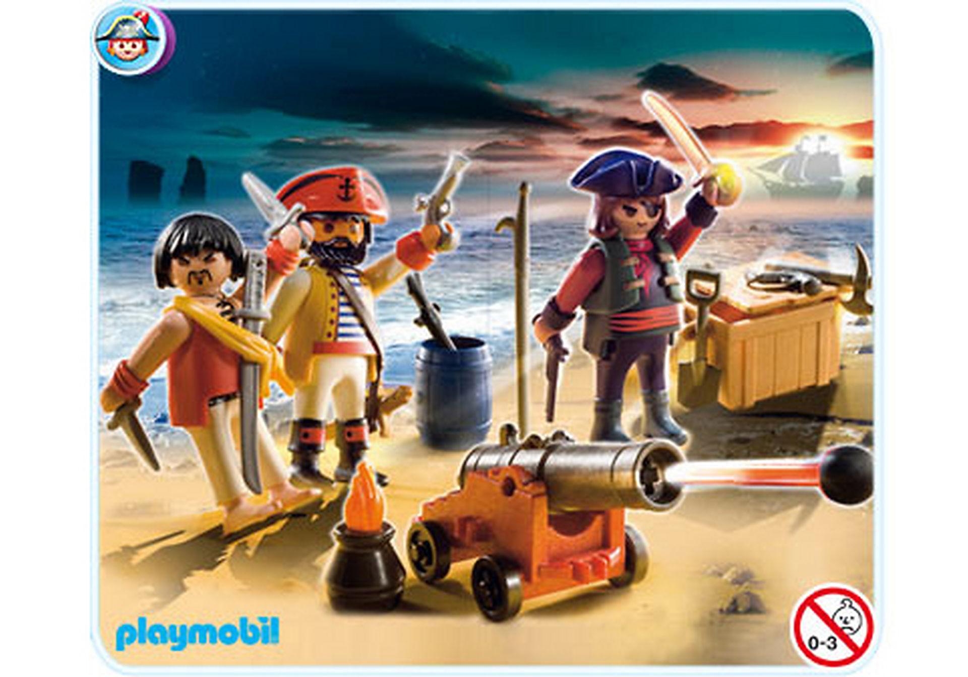 5136-A Piratenkommando mit Waffenarsenal zoom image1
