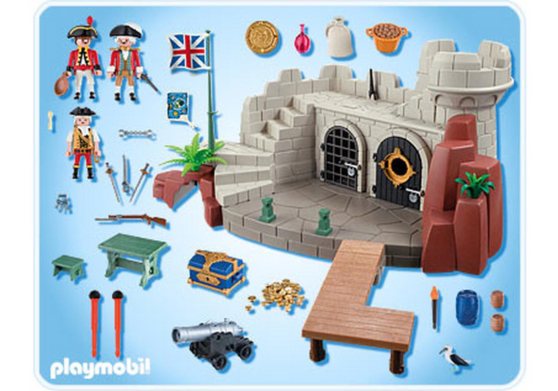 Soldatenfestung Mit Schatzverlies 5139 A Playmobil Deutschland