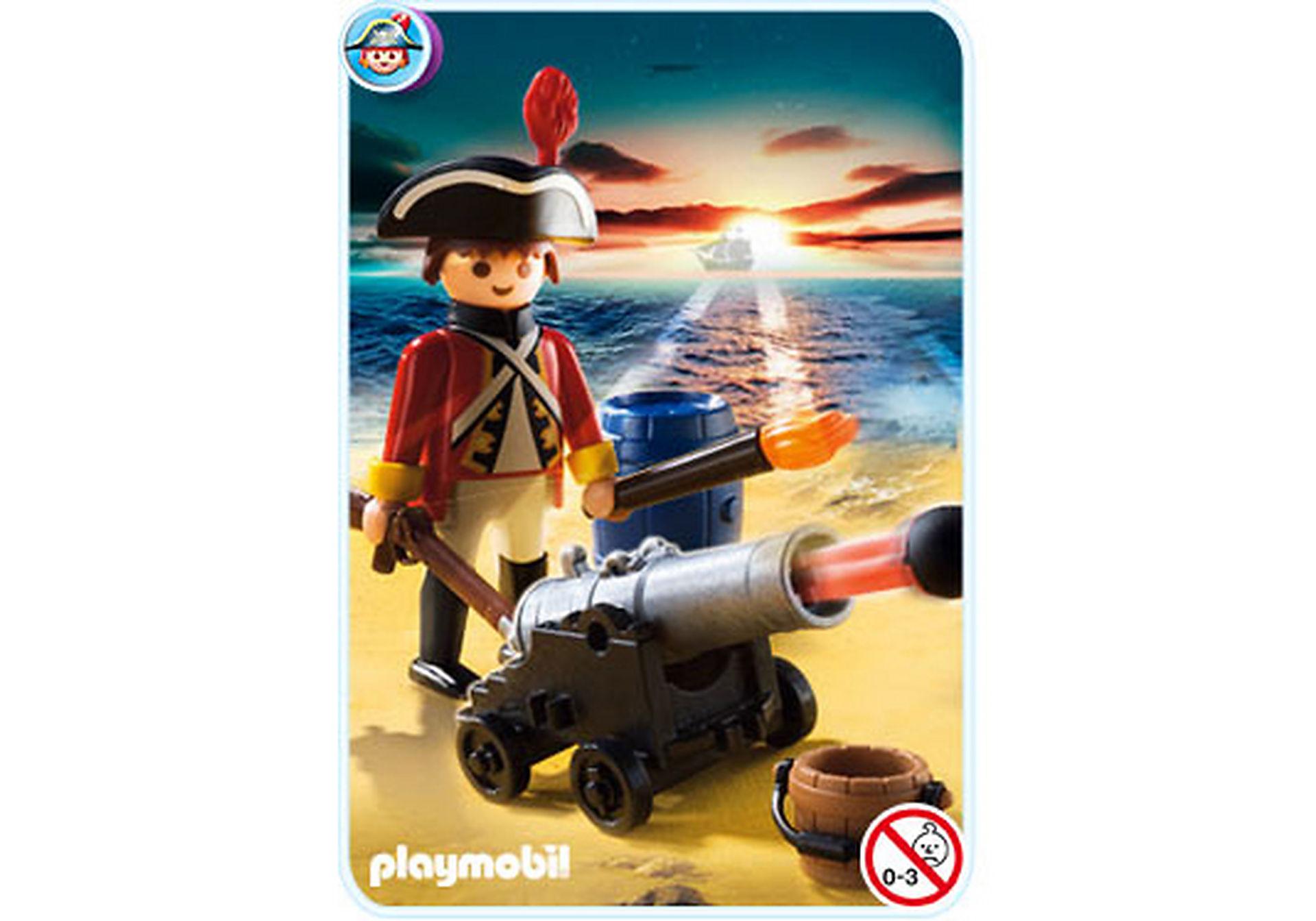 5141-A Kanonen-Offizier der Rotröcke zoom image1