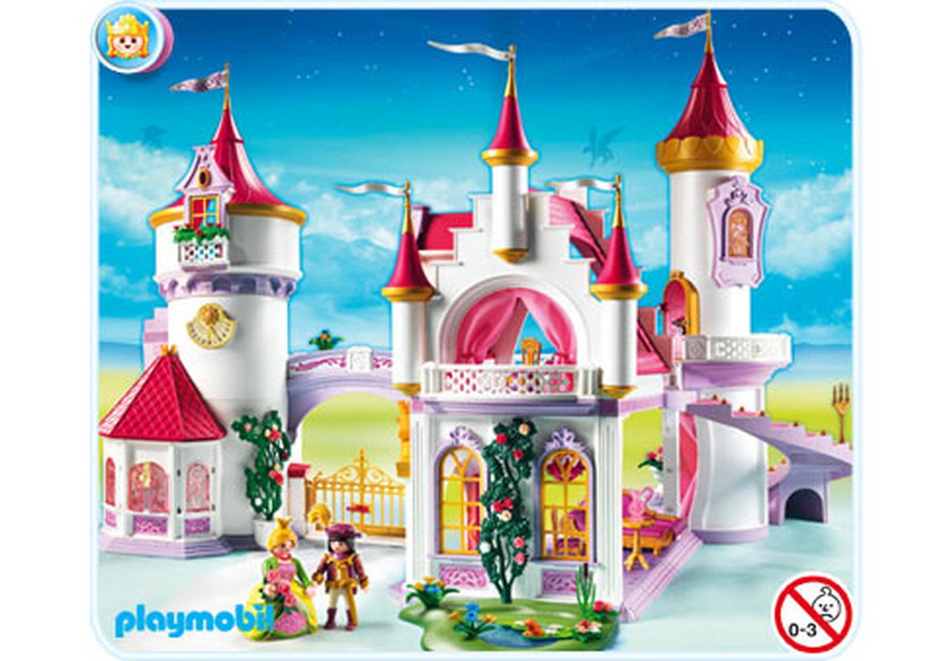 Palais de princesse 5142 a playmobil suisse for Chateau princesse playmobil 5142