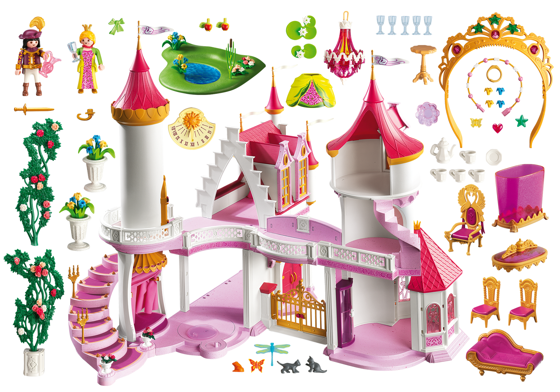 Palacio de princesas 5142 playmobil espa a for Playmobil princesse 5142