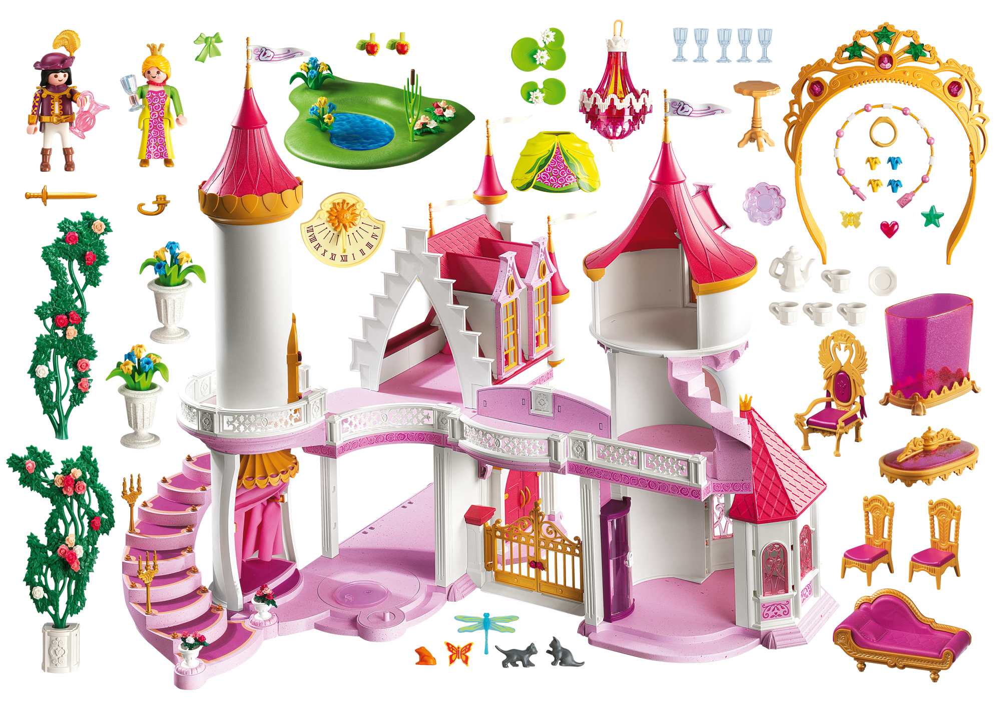 Chateaux playmobil princesse chateaux playmobil princesse for Chateau playmobil princesse 5142
