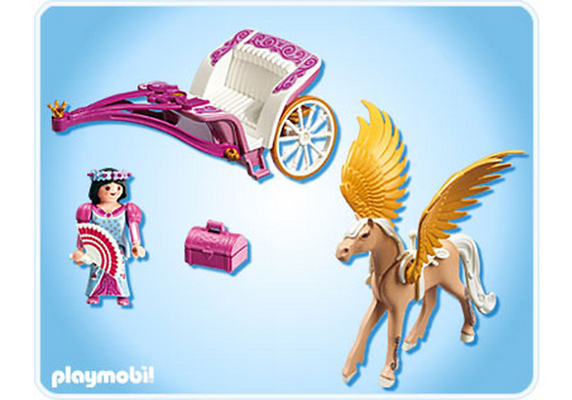 5143-A Pegasus-Kutsche zoom image2