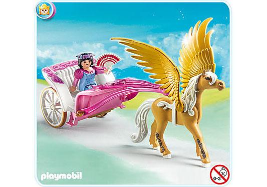 5143-A Pegasus-Kutsche detail image 1