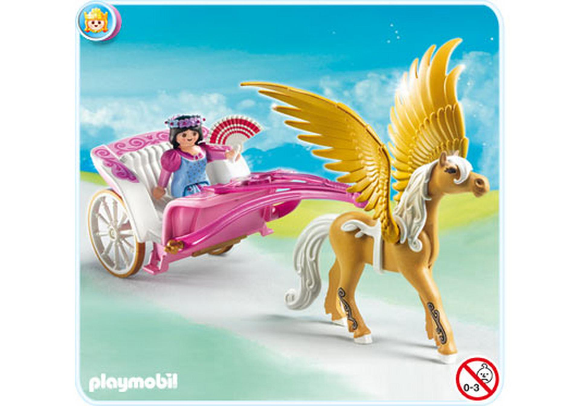 Pegasus kutsche 5143 a playmobil deutschland for Kutsche playmobil