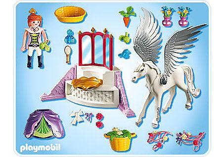 5144-A Pegasus mit Schmück-Ecke detail image 2