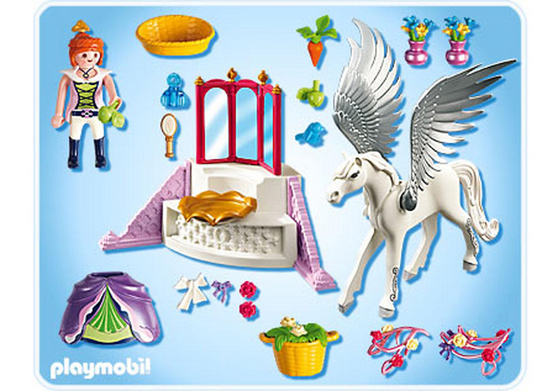 5144-A Pegasus mit Schmück-Ecke zoom image2