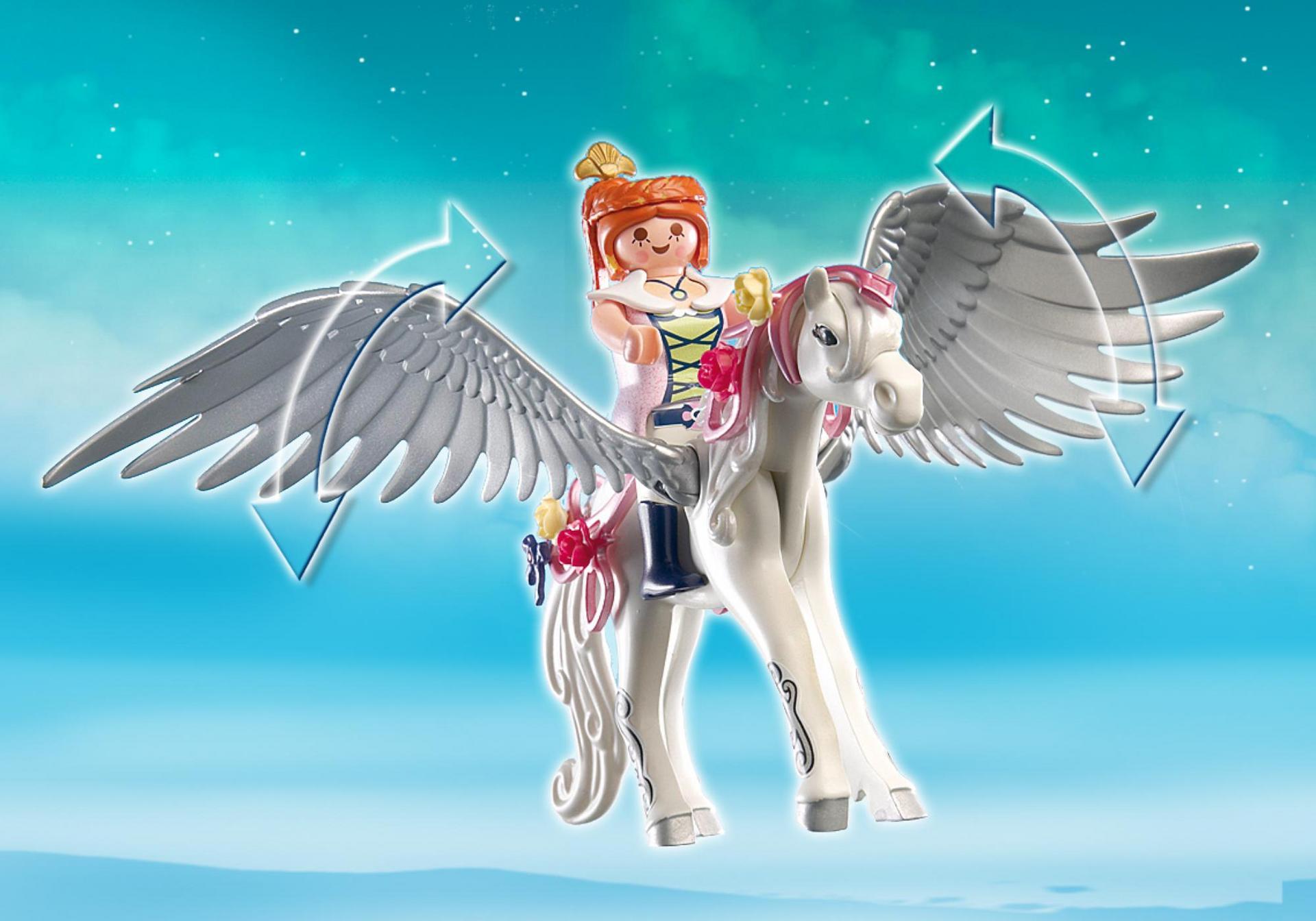 Cheval ail et coiffeuse de princesse 5144 playmobil france - Princesse cheval ...