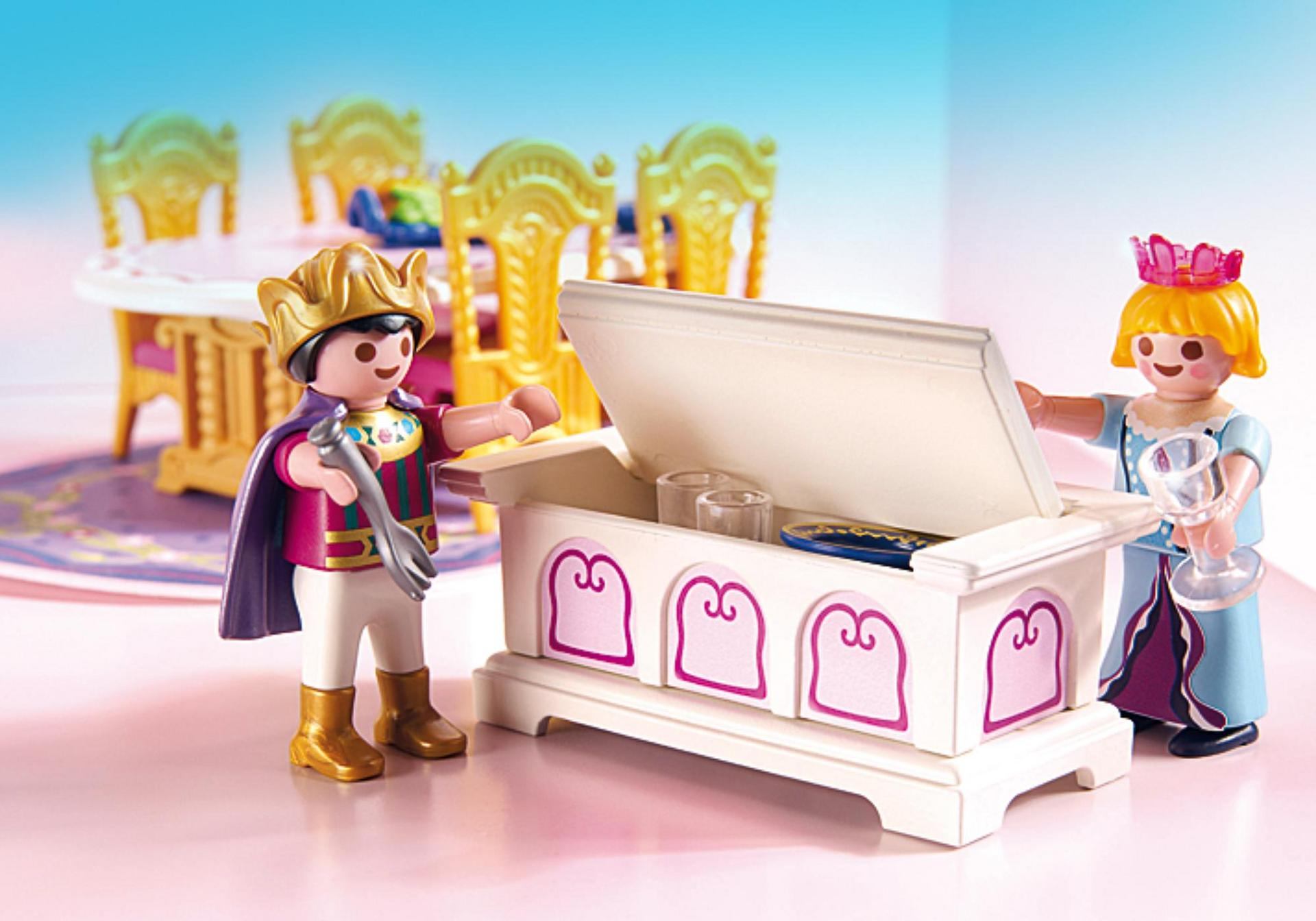 Salle manger royale 5145 playmobil france for Salle a manger playmobil city life