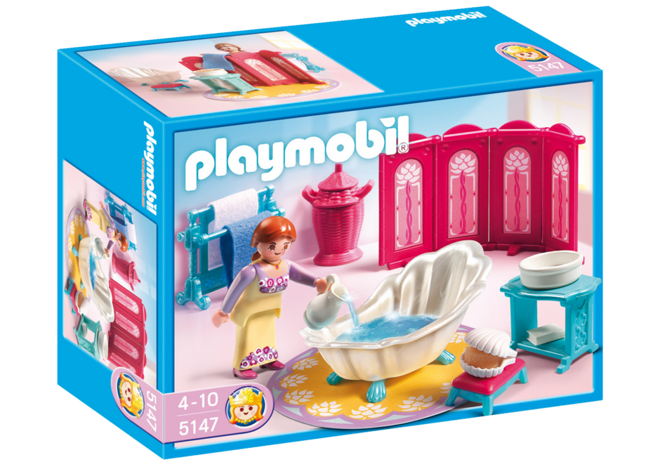 Salle de bains royale 5147 playmobil france for Salle a manger playmobil city life