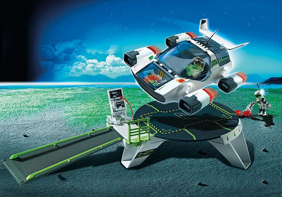 http://media.playmobil.com/i/playmobil/5150_product_detail/E-Rangers Turbojet mit Startstation