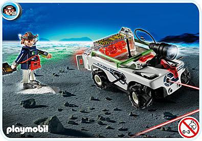 5151-A Explorer mit K.O.-Leuchtkanone detail image 1