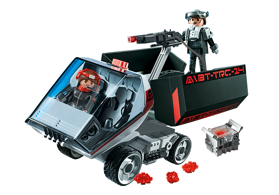 5154 Dark Rangers' Truck with IR Knockout Cannon detail image 1