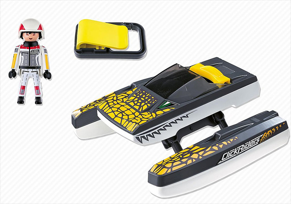 5161 Click & Go Croc Speedboat detail image 4