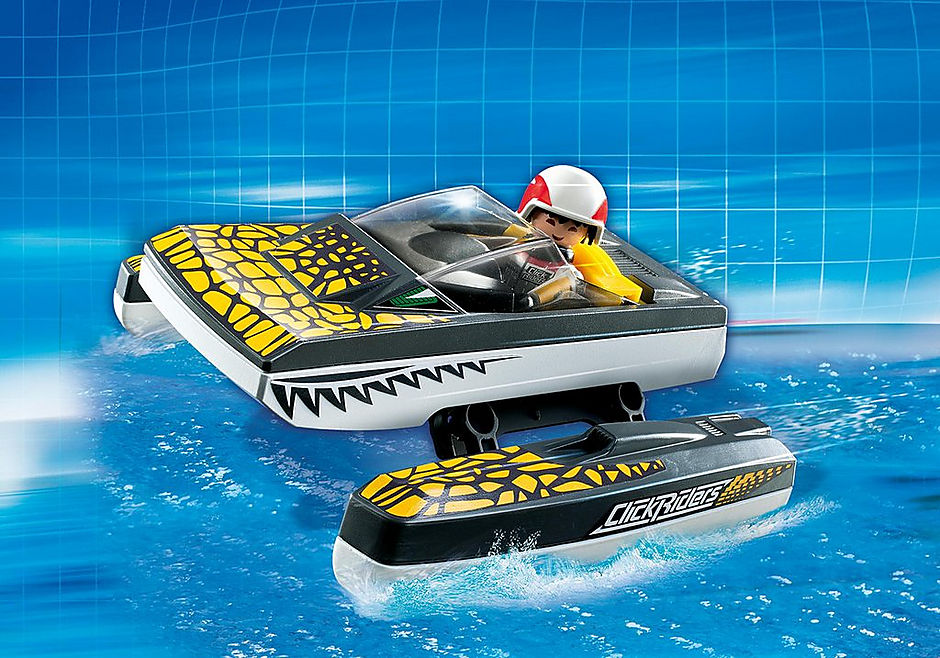5161 Click & Go Croc Speedboat detail image 1